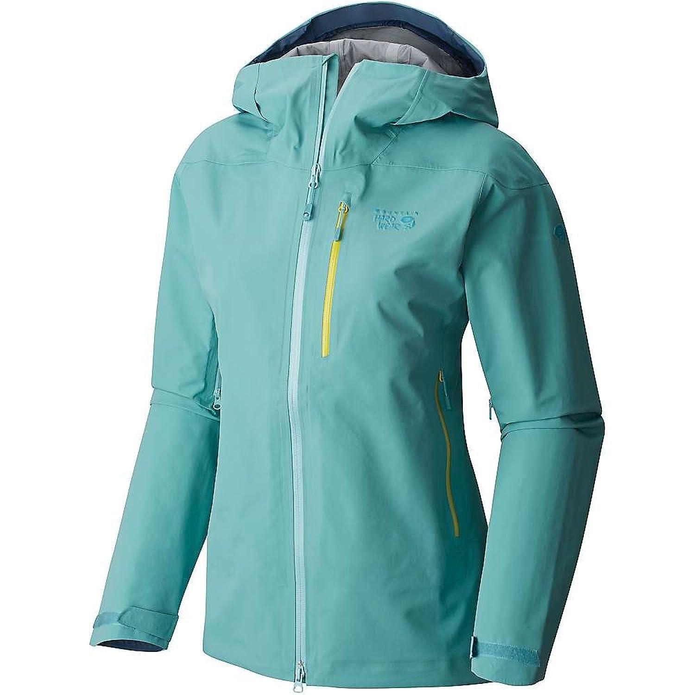 マウンテンハードウェア アウター ジャケットブルゾン Mountain Hardwear Women's Sharkstooth Ja Spruce Blu 19r [並行輸入品] B0761W9LJ3  XS