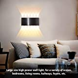 Bjour Modern Wall Sconce 24W Black LED Wall Lamp