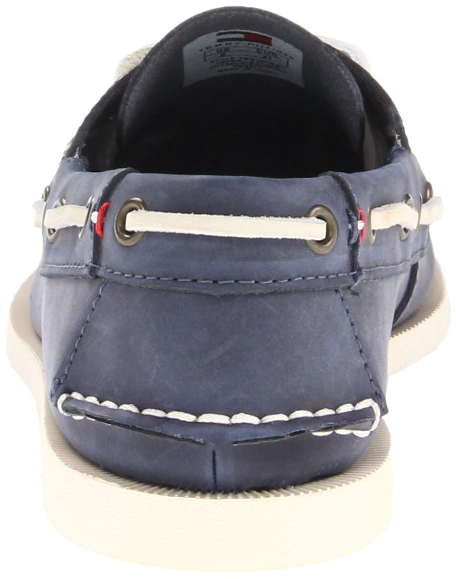 a94248cc07d8c Buy Tommy Hilfiger Bowman 2 Mens Size 11.5 Blue Leather Boat Shoes ...