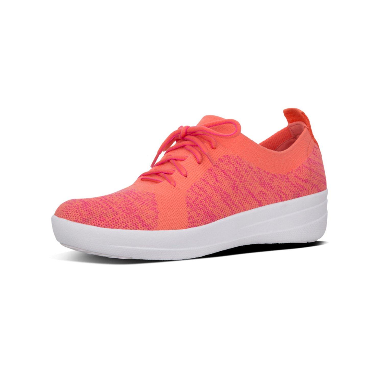 FitFlop F-Sporty Uberknit Sneakers 36 EU Multicolor (Coral/Fuchsia 543)