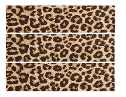 Natural Leopard Print ~ Edible Icing Image Border Strip Cake/Cupcake Topper!!!