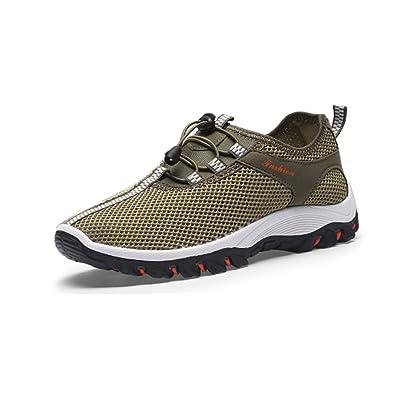 Zapatillas deportivas Chnhira para hombre, transpirables, suaves, para senderismo y escalada, color Gris, talla 39