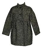 Crewcuts Girls Metallic Tweed Dress Coat Style# 52534 New Size 4-5