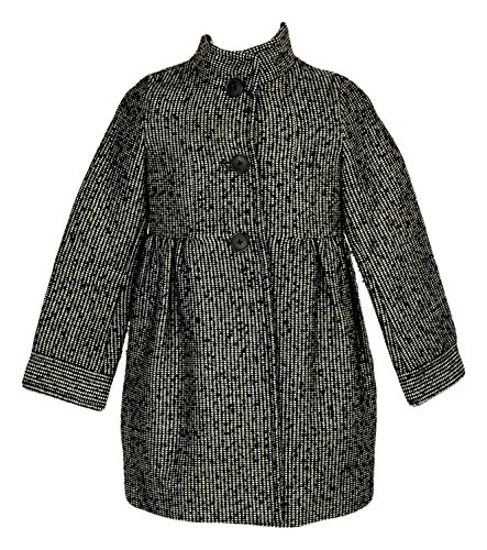 Crewcuts Girls Metallic Tweed Dress Coat Style# 52534 New Size 4-5 by J.Crew