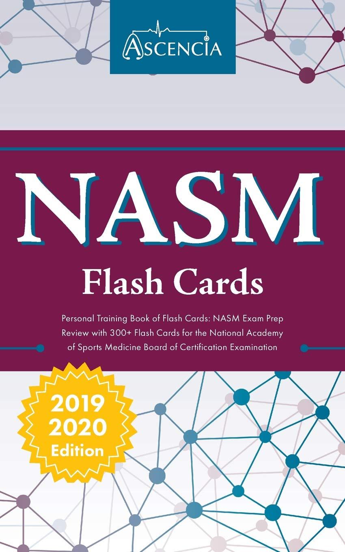 Nasm Personal Training Book Of Flash Cards Nasm Exam Prep Review