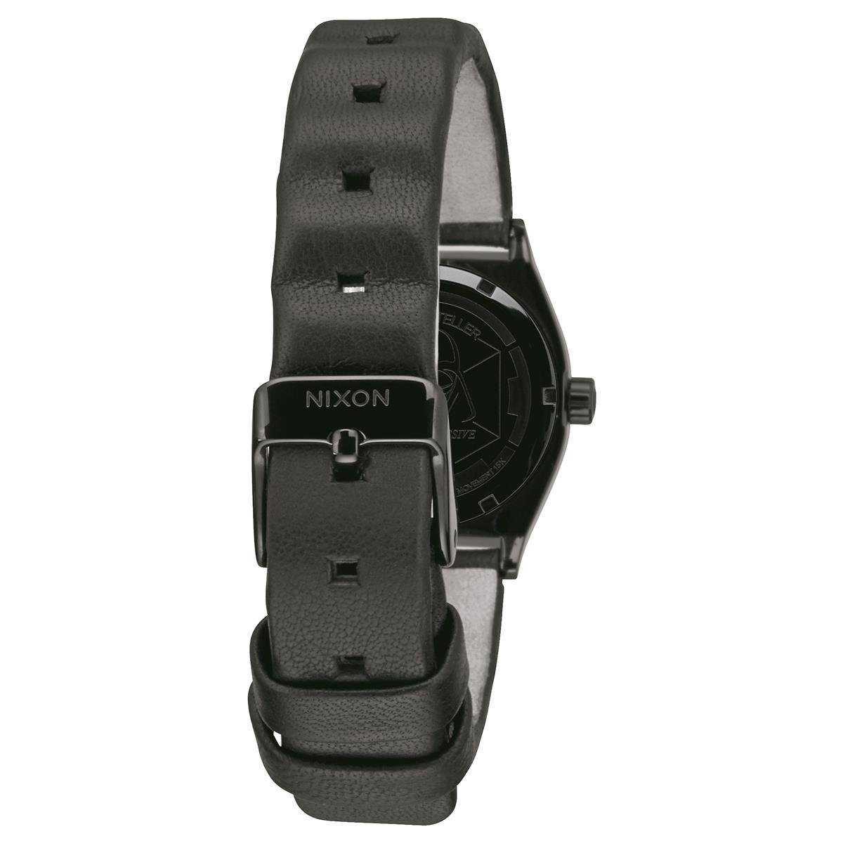 Amazon.com: Nixon Mens Time Teller SW Vader Black A045SW2244 Black Leather Quartz Watch: Nixon: Watches