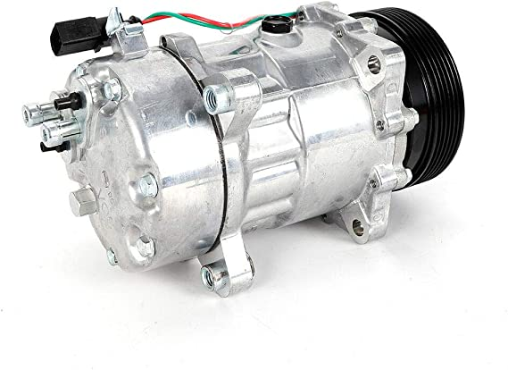 Oukaning 12v Oval Klimakompressor Kompressor Klimaanlage Kompressor 1j0820803 Kompressoren Auto