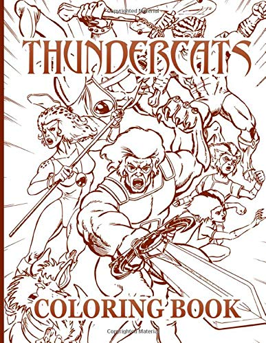 Thundercats Coloring Book Thundercats Stunning Coloring Books For Adults Nicholson Sonny 9798646270734 Amazon Com Books