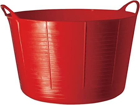 38 LITRE HEAVY DUTY LARGE GORILLA FLEXI TUBS MIXING TUBS X 4