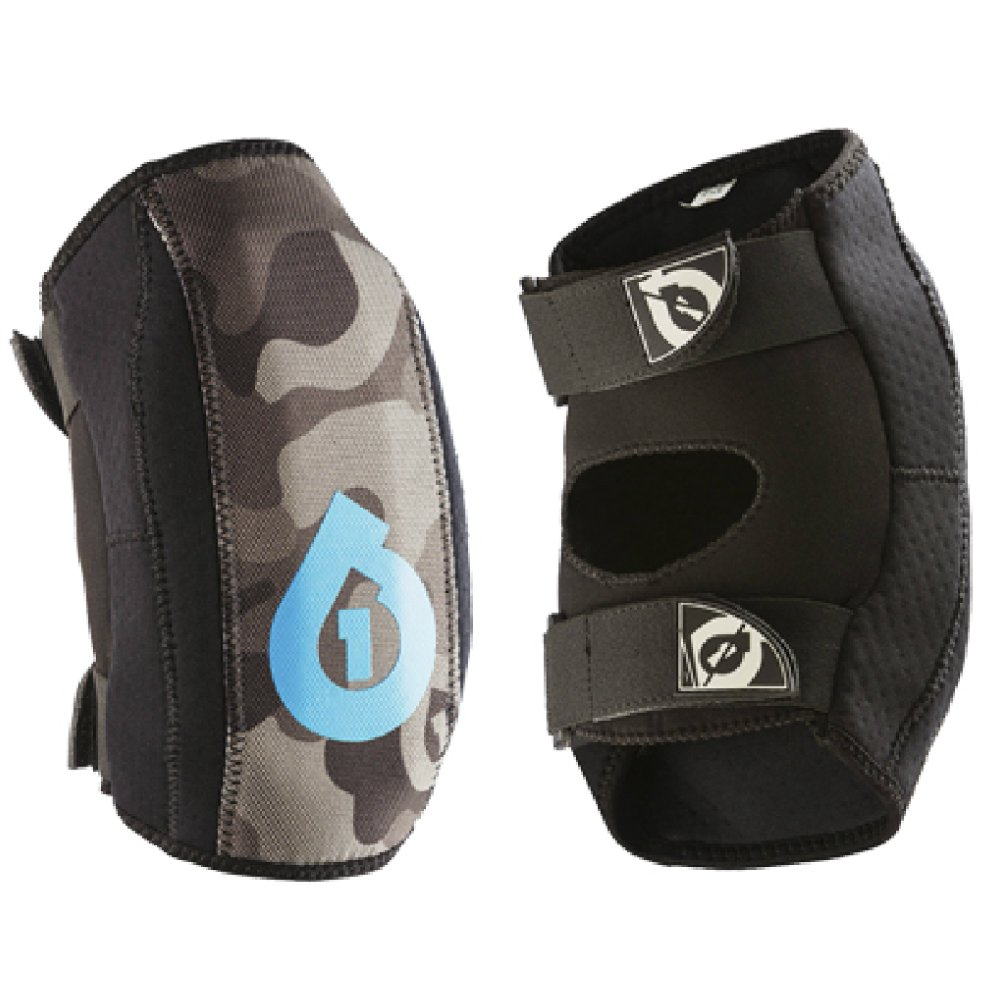 SixSixOne Youth Comp AM Elbow Guard (Black, One Size)