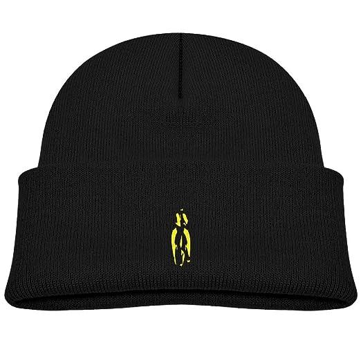 Amazon.com  Qiop nee Baby Beanie Hat Soft Knit Cap Yellow Black ... 2df96af41e4