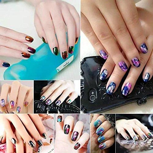 Perfect Summer 12pcs Salon Nails Art Designs Minx Nails Wraps Foils ...