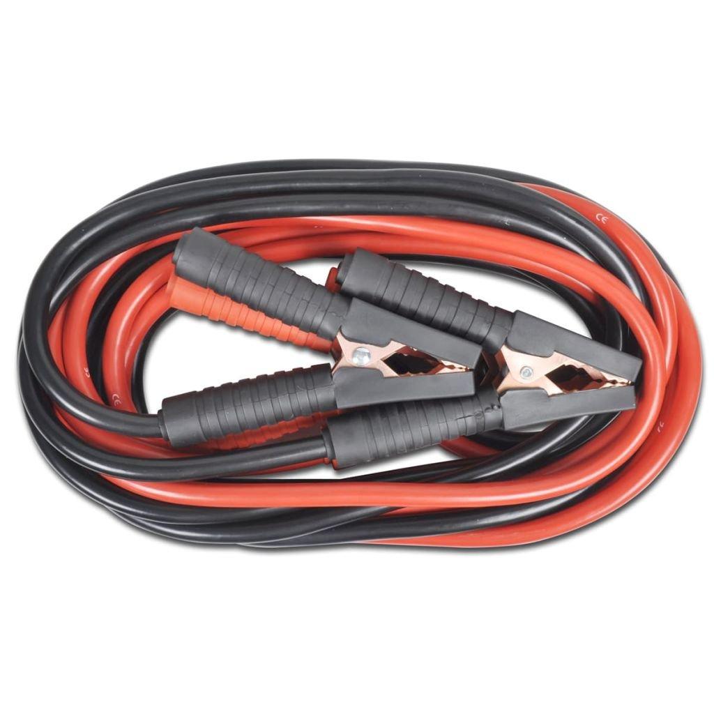 Vislone Cables de Arranque para el Autom/óvil 1000 A 5 Metros 12//24 V Rojo y Negro