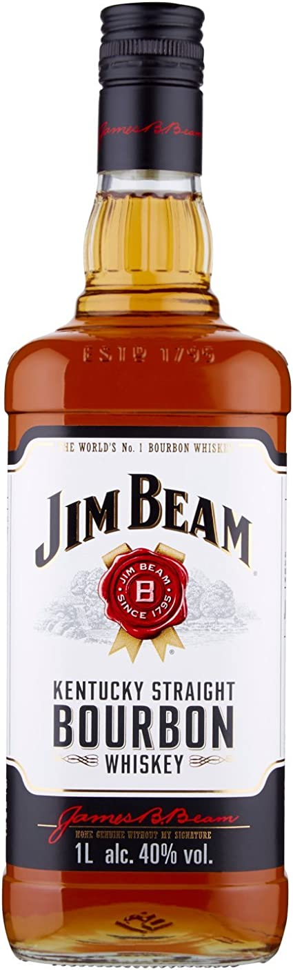 Bourbon whiskey jim beam kentucky straight - 1000 ml 103994511