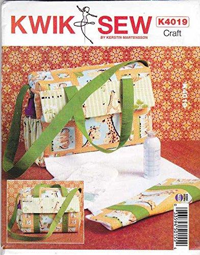 KWIK-SEW PATTERNS K4019 Diaper Bag Sewing Template, One ()