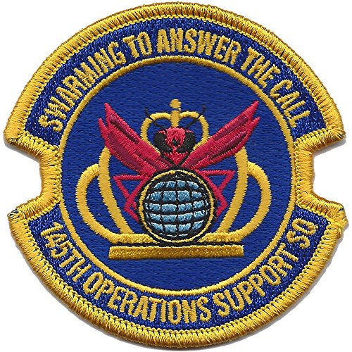 145th Operations Support Squadron Patch -