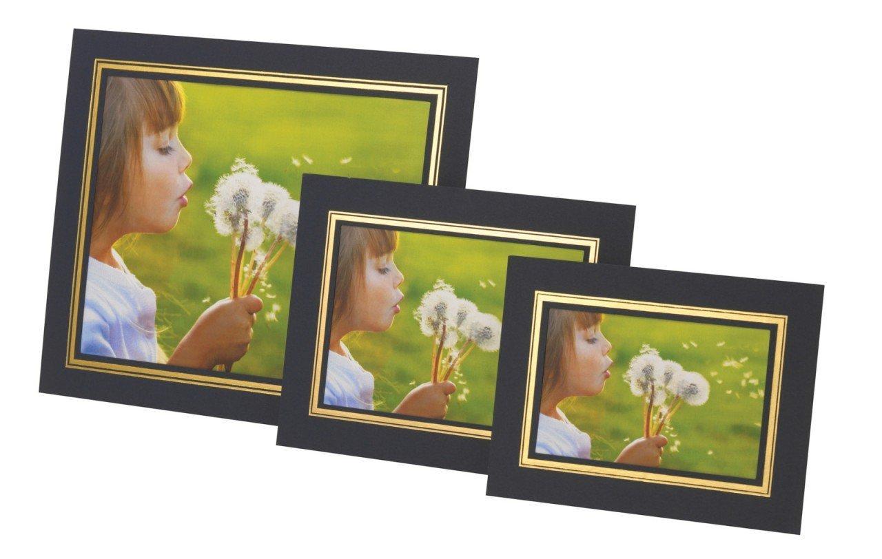Kenro Photo Strut Mount Photo Frame Cardboard Picture Holder Pack of ...