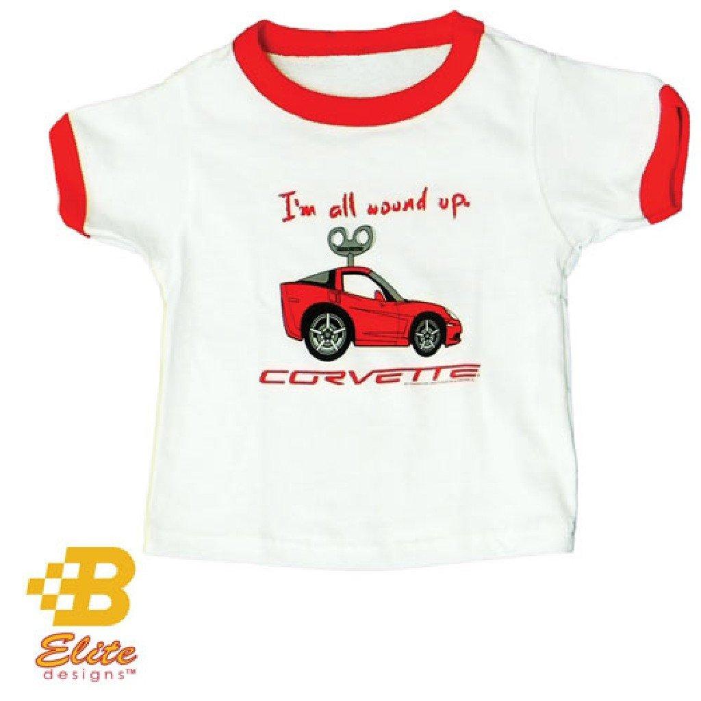 Corvette C6 Kids T-Shirt I/'m All Wound Up