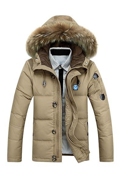 Bubus Chaqueta calefactable, abrigo para hombre, invierno ...