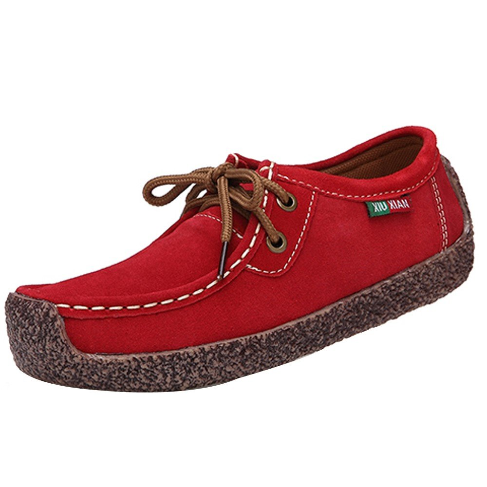Sneakers Femme, Yesmile Sangle Mode Femmes Sneakers Fond Plat Anti-dérapant Sneakers Bas Sangle Loisirs Sneakers Peas Chaussures Rouge ba891b4 - jessicalock.space