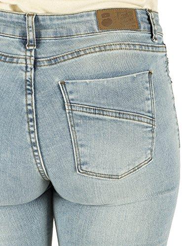 Capitán Denim Hardy, Pantalones para Mujer Azul (Super Bleach)