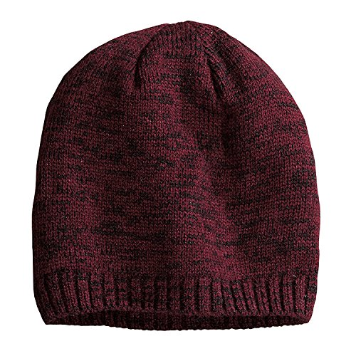 Buy district women's spaced-dyed beanie black