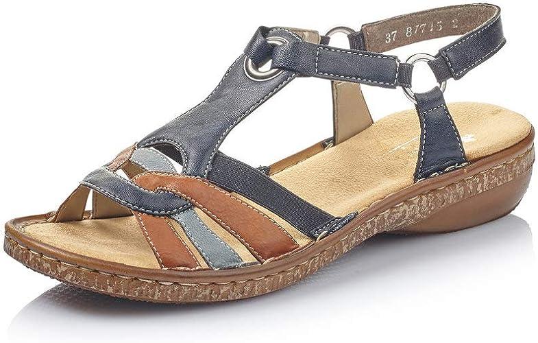 Rieker Women Sandals 62857, Ladies