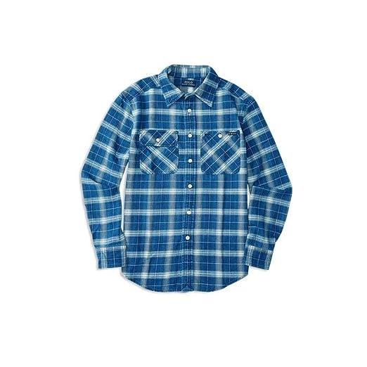 985e5af44e4 Amazon.com  Polo Ralph Lauren Boys  Button-Down Shirt (XL(18-20 ...