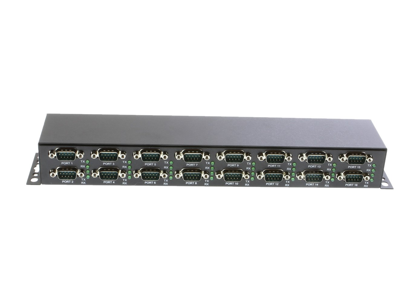 Coolgear 16-Port Industrial RS232 to USB 2.0 Hi-Speed Serial Adapter