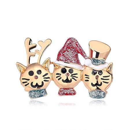 Gwxevce Moda Dibujos Animados Salvaje Navidad Gato Gato ...