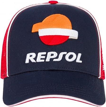 HONDA Repsol Moto GP Team Marquez, Pedrosa Baseball Trucker Gorra ...