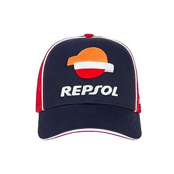 HONDA Repsol Moto GP Team Marquez, Pedrosa Baseball Trucker Gorra Oficial 2018