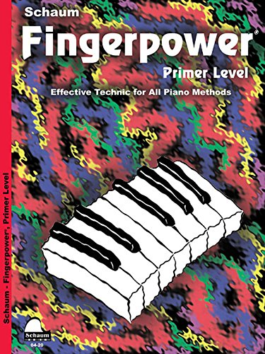 Fingerpower: Primer Level Book Only (Schaum Publications Fingerpower(R))