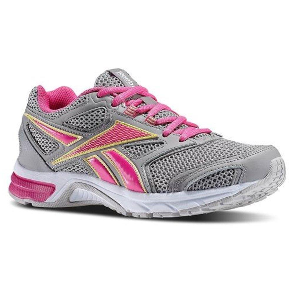 Reebok Women's Southrange Run L Running Shoe (9 C/D US, Tin Grey/Dynamic Pink/Lemon Zest/Grey/White) by Reebok (Image #1)