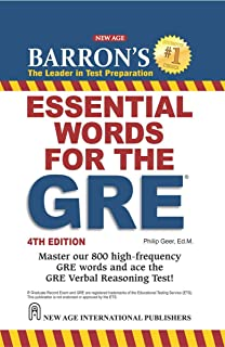 Buy barrons essential words for the gre book online at low prices barrons essential words for the gre fandeluxe Images