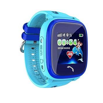 Niños reloj inteligente teléfono, IP67 profundo impermeable anti-perdida reloj GPS posicionamiento teléfono de