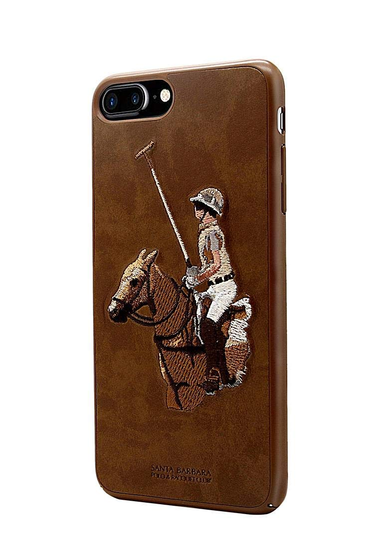 best website a8c2c 6250b Santa Barbara Polo and Racquet Club Case cover for Apple iPhone 7 Plus  Jockey Series - Brown