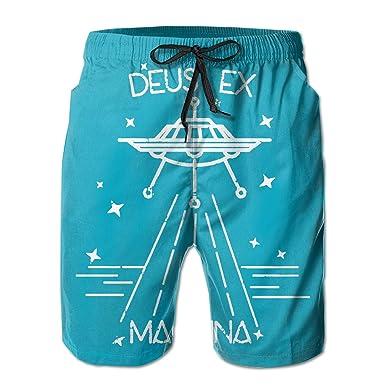 4ea1528fb4 Men's Beach Shorts Deus EX Machina Swim Trunks Board Shorts | Amazon.com