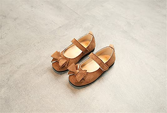 YUBUKE Girls Adorable Ballerina Mary Jane Flats Shoes Princess Shoes