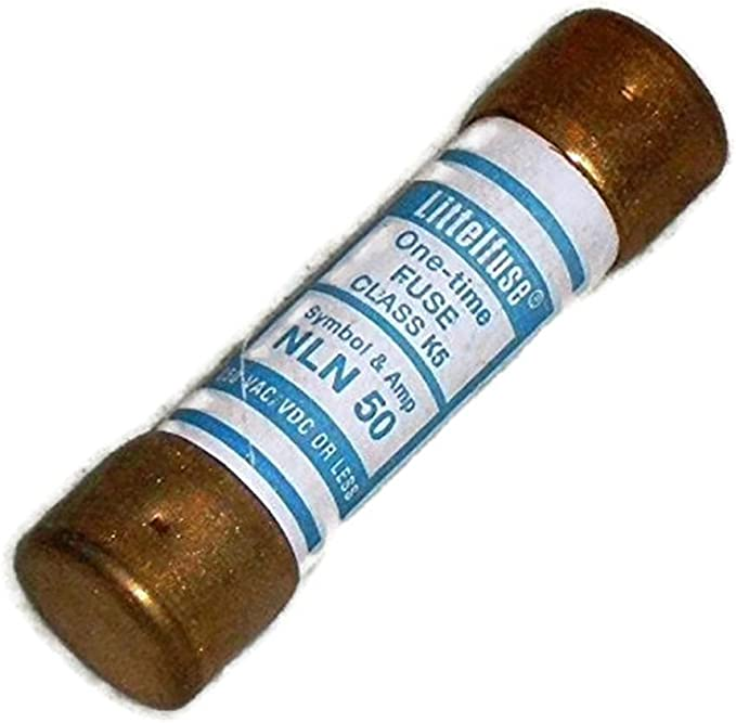 Littelfuse NLN80 One Time Fuse Class H Lot of 5