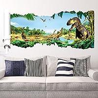 ZooartsJurassic World Dinosaur Scroll Wall Decals...