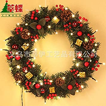 christmas garland for stairs fireplaces christmas garland decoration xmas festive wreath garland with christmas wreath restaurant - Fireplace Christmas Decorations Amazon