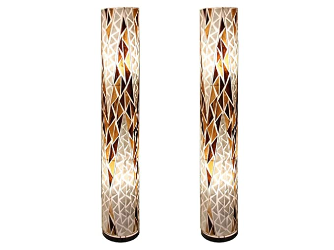 Set di design stehlampen bali cm di altezza tessile