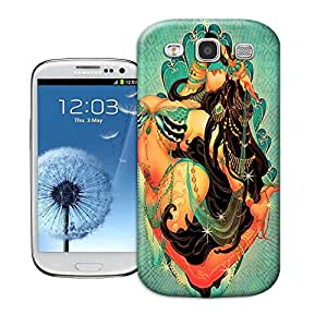 DIY Samsung Galaxy S3 Case/Shell/Cover With Shock Absorption Bumper Tpu Arabian Belly Dancer BY SHICASE