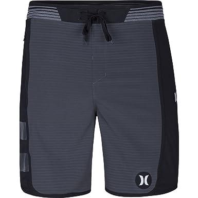 7d653512fc Amazon.com: Hurley MBS0007320 Men's Phantom Hyperweave Motion Stripe  Boardshorts: Clothing