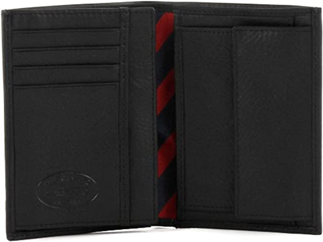 Minimizar tallarines Perceptivo  Tommy Hilfiger Johnson N/S Wallet W/Coin Pocket Wallets Mens Black Schwarz  (Black 990) Size: 10x14x2 cm (B x H x T): Amazon.co.uk: Luggage