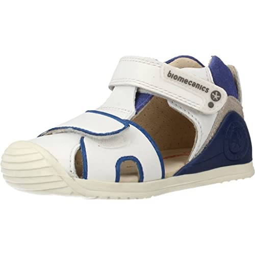 50235af5ae8 Biomecanics Sandalias con Velcro Primeros Pasos Biogateo 182151B Gris/Rojo:  Amazon.es: Zapatos y complementos