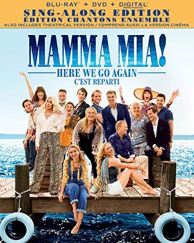 Mamma Mia! Here We Go Again [Blu-ray + DVD + Digital] (Bilingual)