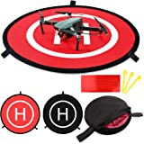 Drone Landing Pads KINBON, Waterproof 30'' Universal Landing Pad Fast-fold Double Sided Quadcopter Landing Pads for RC…