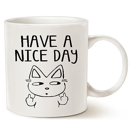 Taza de café con diseño de gato para amantes de los gatos, con el ...